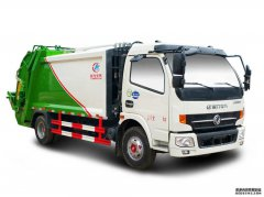 <b>侧装压缩式垃圾车融入不一样规格型号的垃圾桶</b>