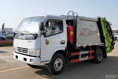 <b>压缩垃圾车可选装后挂桶翻转机构或垃圾斗翻转</b>