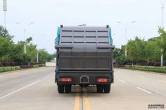 <b> 缩小垃圾车缩小全过程中的废水直接进入废水厢</b>