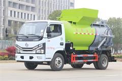 东风5方小型餐厨垃圾车多少钱_餐厨垃圾车生产厂