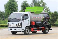 国六东风3吨餐厨垃圾车价格_小型餐厨垃圾车优质