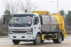 东风5吨餐厨专用垃圾车出厂报价,优质餐厨垃圾车