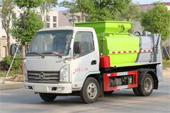 上蓝牌的国六凯马2吨餐厨垃圾车多少钱