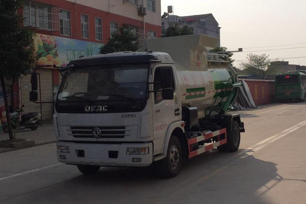 东风5吨餐厨垃圾车价格