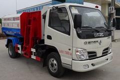 东风5方挂桶式垃圾车价格_图片_视频_配置_厂家