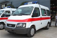 福特全顺短轴运输型救护车价格_图片_配置_厂家