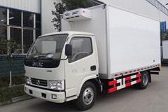 东风多利卡4.2米冷藏车价格_图片_配置_厂家_上蓝