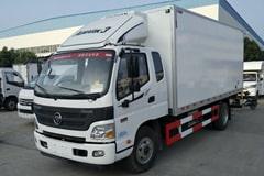 欧马可5.1米排半冷藏车价格_图片_配置_厂家