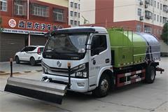 国六东风5吨路面高压清洗车价格_图片_视频_配置