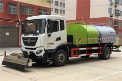 天锦8吨路面高压清洗车价格_视频_图片_配置