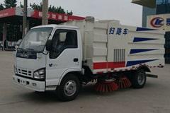 五十铃3吨清扫车价格_视频_图片_配置_生产厂家