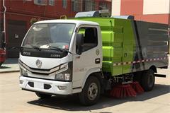 国六东风3吨扫路车价格|图片