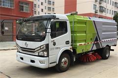 国六东风5吨扫路车价格|图片