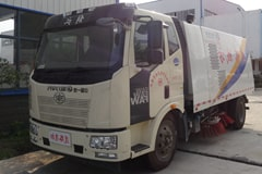 [高清]解放8吨大型清扫车图片大全