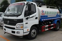 福田欧马可5吨洒水车价格_视频_图片_厂家