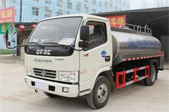 东风5吨鲜奶运输车价格_图片_配置_厂家