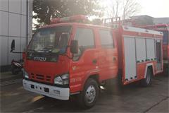 五十铃3吨水罐消防车价格_图片_配置_厂家