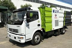 东风5吨吸尘车价格_视频_图片_配置_生产厂家
