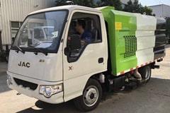 江淮2吨小型吸尘车价格_视频_图片_配置_厂家