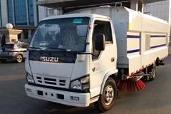 五十铃5吨洗扫车价格_视频_图片_配置_厂家