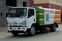 五十铃6吨洗扫车价格_视频_图片_配置_厂家