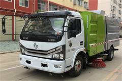 国六东风5吨洗扫车价格_视频_图片_配置_厂家