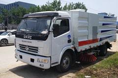 东风6吨洗扫车价格_视频_图片_配置_生产厂家