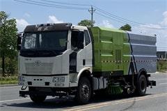 解放8吨洗扫车价格_视频_图片_生产厂家