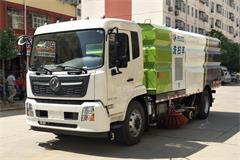 【高清】国六东风天锦8吨洗扫车图片大全