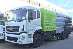天龙25吨大型洗扫车价格_视频_图片_配置_厂家