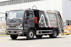 北京专供东风6方压缩式垃圾车价格|图片