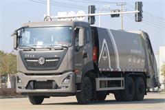 北京东风天龙18方压缩垃圾车价格|图片