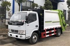 [高清]东风3吨压缩式垃圾车图片大全