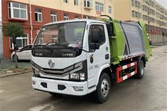 东风3吨智能型压缩垃圾车价格|图片