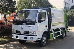 【高清】国三东风3吨压缩式垃圾车图片大全