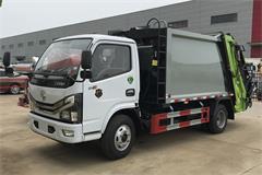 【高清】国六东风3吨压缩式垃圾车图片大全
