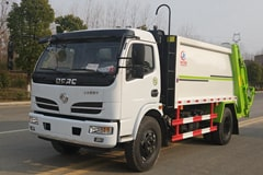 [高清]东风5吨压缩式垃圾车图片大全