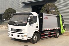 【高清】东风5吨垃圾压缩车图片大全