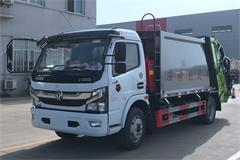 【高清】国六东风5吨压缩式垃圾车图片大全