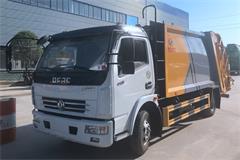 【高清】东风5吨后装式压缩垃圾车图片大全