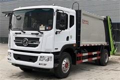 [高清]东风8吨压缩式垃圾车图片大全