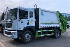 国六东风8吨垃圾压缩车价格_配置_视频_图片