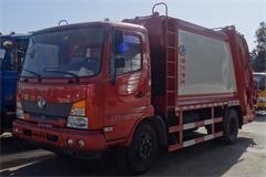 [高清]东风嘉运8吨压缩式垃圾车图片大全