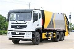 东风华神25吨压缩式垃圾车报价_厂家直销