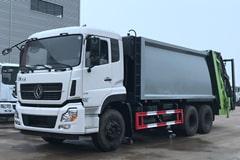 [高清]东风天龙25吨压缩垃圾车图片大全