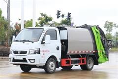东风途逸4方压缩式垃圾车价格|图片