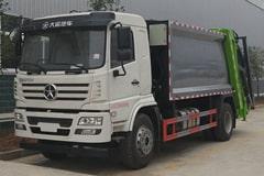 [高清]大运8吨压缩式垃圾车图片大全