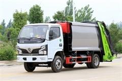 东风福瑞卡6方压缩式垃圾车价格|图片