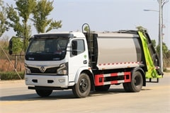 东风福瑞卡8方压缩式垃圾车价格|图片