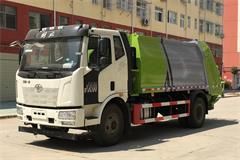 【高清】解放8吨智能型压缩垃圾车图片大